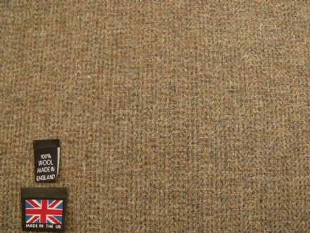 100% Pure New Wool Classic Tweed Fabric BZ29